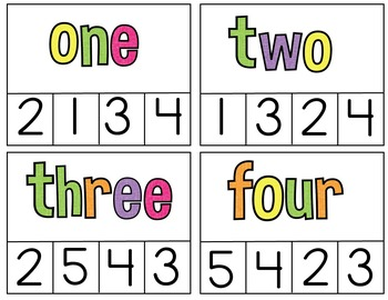 Clip Cards (Numbers to 20)