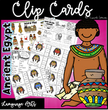 Clip Cards Pack -Ancient Egypt Themed