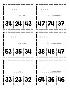 Clip Cards-Place Value