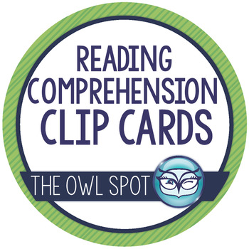 Clip Cards! Reading Comprehension Set
