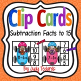 Clip Cards (Subtraction Facts to 10)
