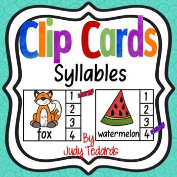 Clip Cards (Syllables)