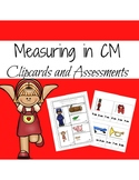 Clip Cards and Assessments for Measuring in Centimeters