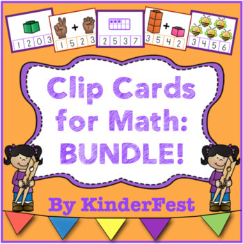 Clip Cards for Math: Bundle