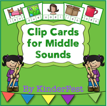 Clip Cards for Middle Sounds