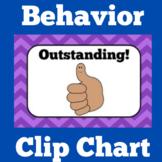 Clip Chart Behavior System | Printable