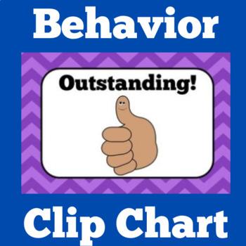 Clip Chart | Behavior Clip Chart | Kindergarten Clip Chart