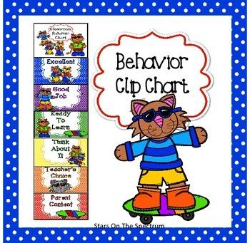 Clip Chart * Cool Cat Clip Chart