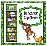Monkey Clip Chart Monkey Theme Behavior Management