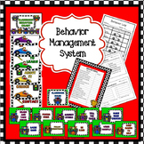 Behavior Chart Race Car Theme