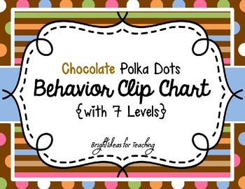 Clip Chart: A Classroom Management Tool {Chocolate Polka Dots}