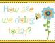 Clip Chart Bee Themed Polka Dot