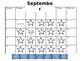 Clip Chart Behavior Calendar (downloads black and white)