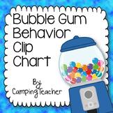 Discipline Clip Chart for Behavior Management Gumball Style