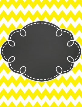 Clip Chart Behavior Management Primary Chevron and Chalk (Editable)