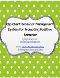 Clip Chart Behavior Management System with 9 Levels