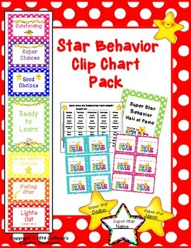 Clip Chart Behavior Plan