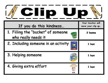 Clip Chart Behavior Signs