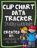 Clip Chart Behavior Tracker (Student and Teacher Versions)