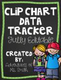 Clip Chart Behavior Tracker (Student and Teacher Versions)