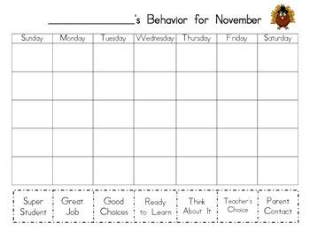 Clip Chart Calendar to go Home