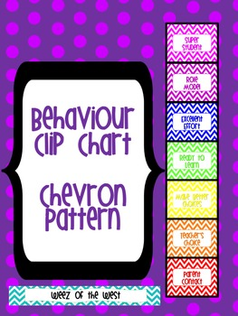 Clip Chart - Chevron Theme