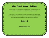 Clip Chart Color System