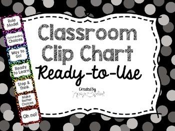 Clip Chart Confetti (Polka Dots) FREEBIE!!!