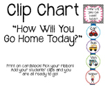 Clip Chart- How will you go home today?