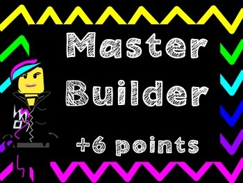 Clip Chart (Includes Class Dojo version) : Building Blocks Theme