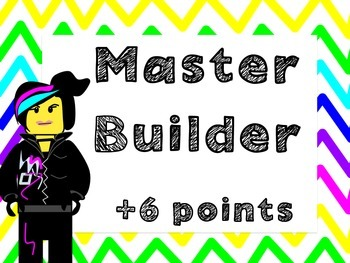 Clip Chart (Includes Class Dojo version) : Building block Theme