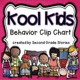 Clip Chart ~ Cool Kids Theme (editable)