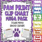 Paw Clip Chart Mega Pack