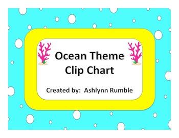 Clip Chart - Ocean Theme