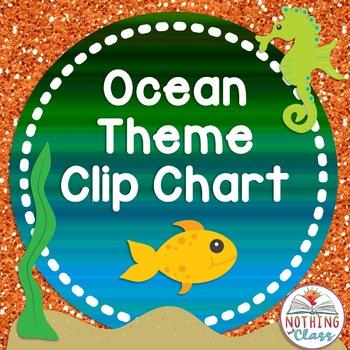 Clip Chart-Ocean Theme