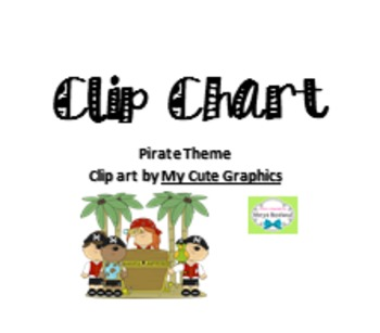 Clip Chart (Pirate Theme)