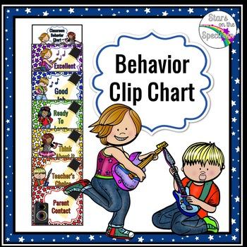 Clip Chart * Rock Star Theme Clip Chart