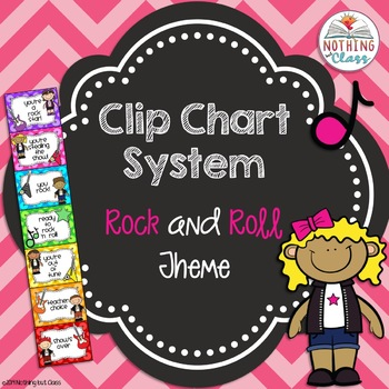 Clip Chart Rock and Roll Theme