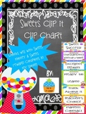 Clip Chart for Classroom Management {Sweets}