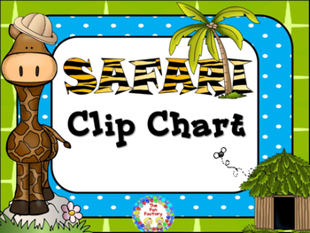 Clip Chart - Safari Themed