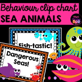 Clip Chart Sea Animals