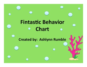 Clip Chart Sheet Bundle- Ocean Theme