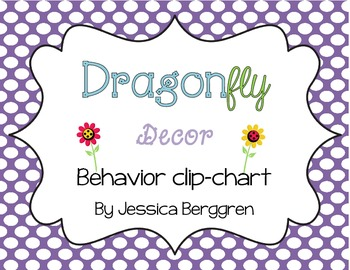Clip Chart Signs {Dragonfly Decor}