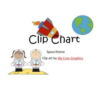 Clip Chart (Space Theme)