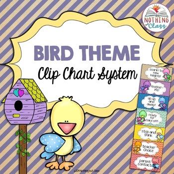 Clip Chart System Bird Theme
