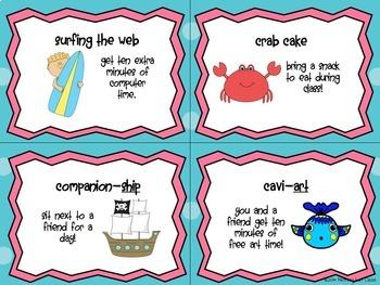 Clip Chart System Ocean Theme