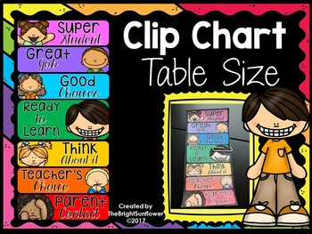 Clip Chart Table Size