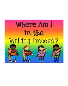 Clip Chart~ Writing Process ~ EDITABLE!