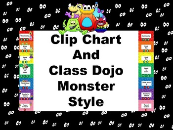 Clip Chart and Class Dojo