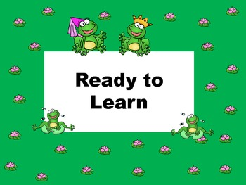 Clip Chart and Class Dojo - Froggy Style